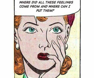quotes, comic, and feelings image