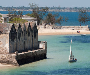beach, Island, and mozambique image
