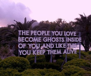 quotes, love, and ghost image