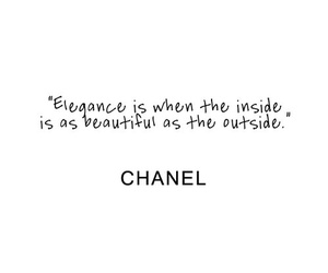 chanel, quotes, and elegance image
