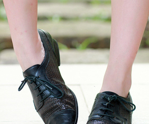 fashion, vintage, and oxfords image