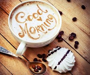 cappuccino, good morning, and Kaffee image