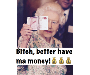 funny, meme, and money image