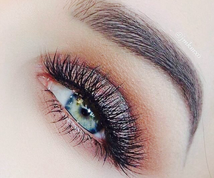 makeup, eyes, and luxury image