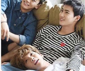 exo, Chen, and baekhyun image