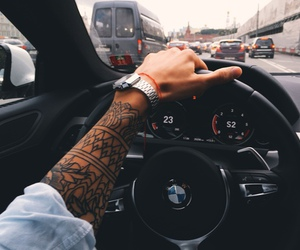 tattoo, car, and bmw image