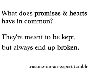 heart, promises, and quotes image