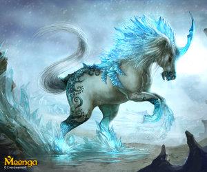ice and unicorn image