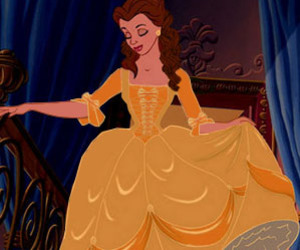 beauty and the beast, disney, and pretty image