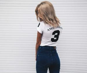 fashion, girl, and amsterdam image