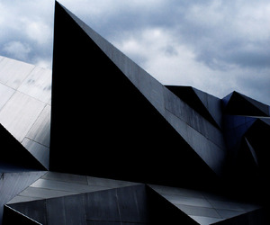 architecture and black image