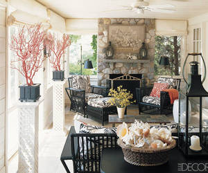 chimney, decoration, and elle decor image
