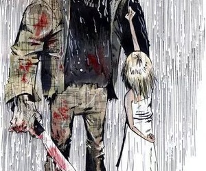jason voorhees and love image