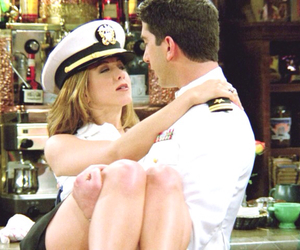 David Schwimmer, Jennifer Aniston, and lobsters image