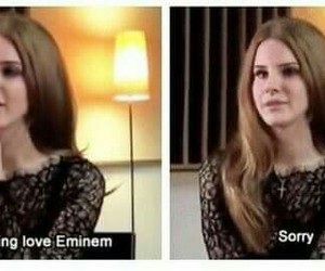 eminem, Queen, and lana del rey image