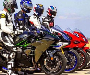 bikers, ducati, and family image