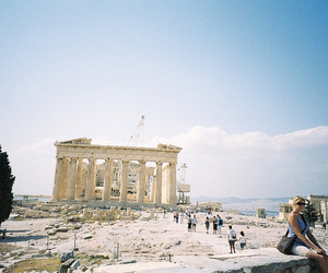 vintage, photography, and Greece image