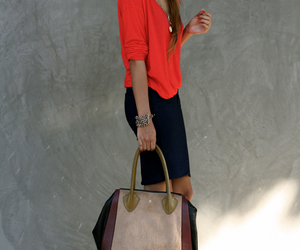 fashion, bag, and style image