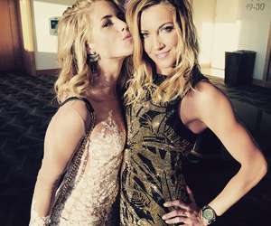 arrow, katie cassidy, and emily bett rickards image