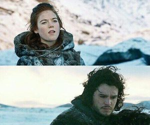 game of thrones, jon snow, and funny image