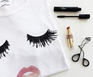 fashion, dior, and makeup image