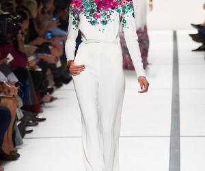elie saab, fashion, and model image