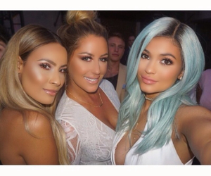 kylie jenner and blue hair image