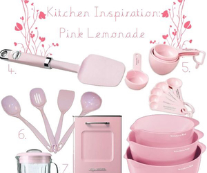 pink kitchen image