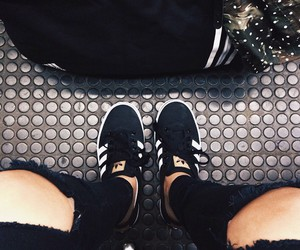 addidas, black, and cool image
