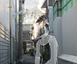girl, indie, and street image