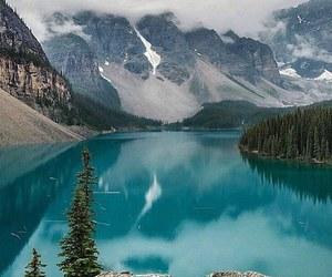 couple, explore, and lake image