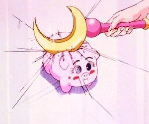 sailor moon, pink, and sailor image