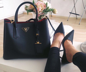 bag, rest, and black style image