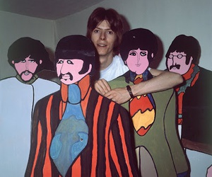 david bowie and beatles image