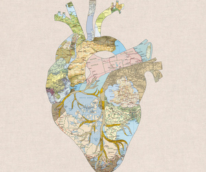 heart, love, and travel image