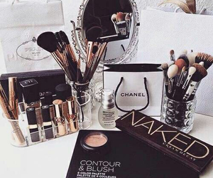 chanel, makeup, and urban decay image