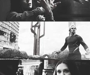 elizabeth olsen, quicksilver, and scarlet witch image