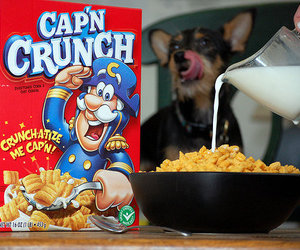 cereal, food, and cap'n crunch image