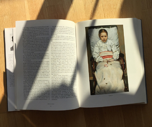 art, book, and shadow image