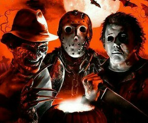 Halloween, jason, and michael myers image