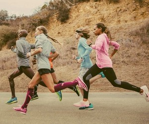 run, running, and nike image