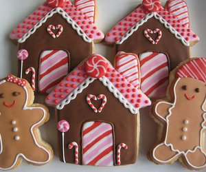 christmas, Cookies, and cute image