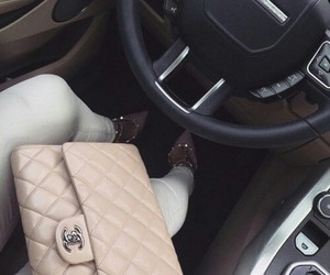 chanel, fashion, and car image