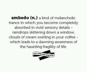melancholy and ambedo image