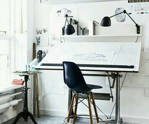 architect, workspace, and architecture image