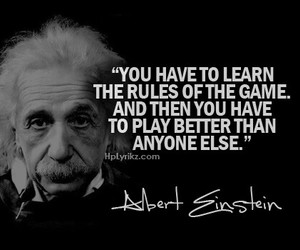 quotes, Albert Einstein, and game image