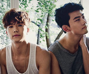 2PM, chansung, and edit image