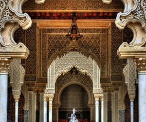 architecture, morocco, and art image