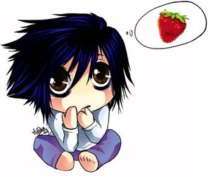 chibi, cute, and death note image