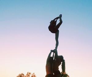 cheer, Cheerleaders, and fit image